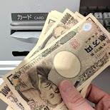 japanese money in Tokyo, Tokyo, Japan