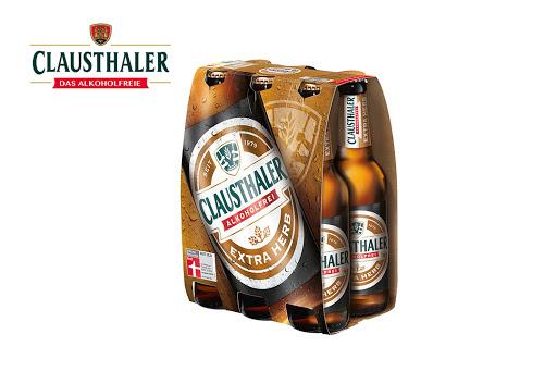 Bild für Cashback-Angebot: Clausthaler Extra Herb - Radeberger