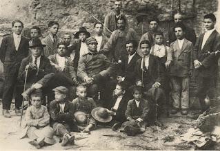 Photo: Il ritorno dalla guerra 1919 (al centro Pasquale Russo)