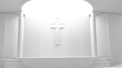 Photo: Modelo 3D - Interior de INP Moriah - Blender 3D