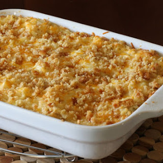 Hash Brown Casserole With Sour Cream.