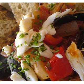 Grilled Seafood Cioppino.