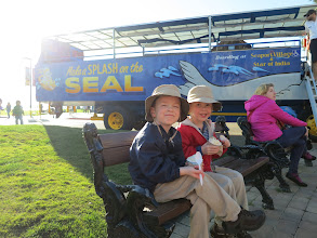 Photo: Our last event of our trip - the Seal ride.  Not as fun as the Duck in Seattle though.