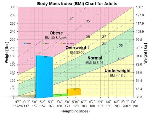 Obese Bmi Chart