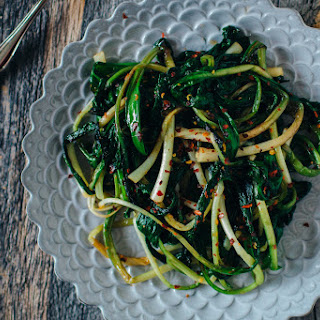 Caramelized Ramps.