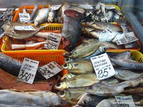 Photo: Smoked fish options in Karasuk
