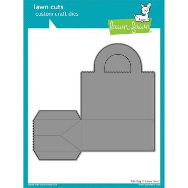 Lawn Cuts Custom Craft Die - Tote Bag