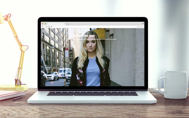 Alisha Marie New Tab Video Theme