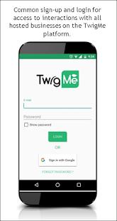 TwigMe - náhled