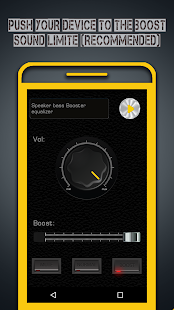 App Speaker Volume Bass Booster EQ - Music Equalizer APK for Windows Phone