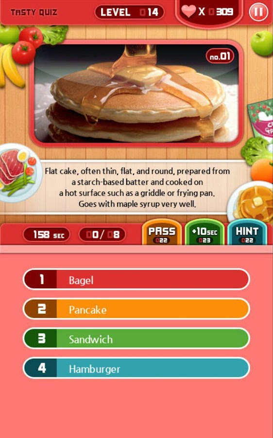 World food quiz android apps on google play for Cuisine quiz