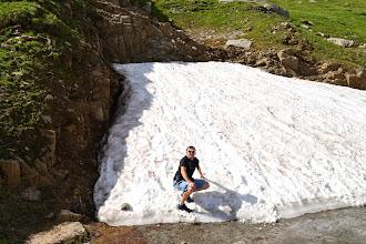 Photo: zbytky sněhu