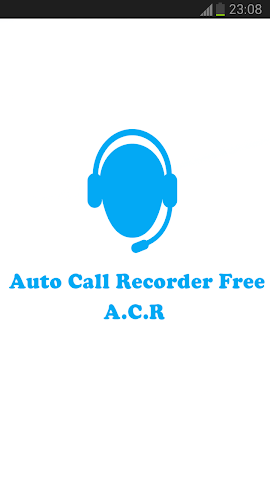 android Automatic Call Recorder Free Screenshot 0