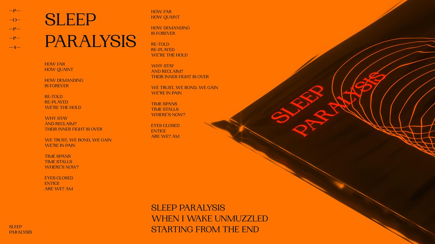 Sleep Paralysis — Single launch 2