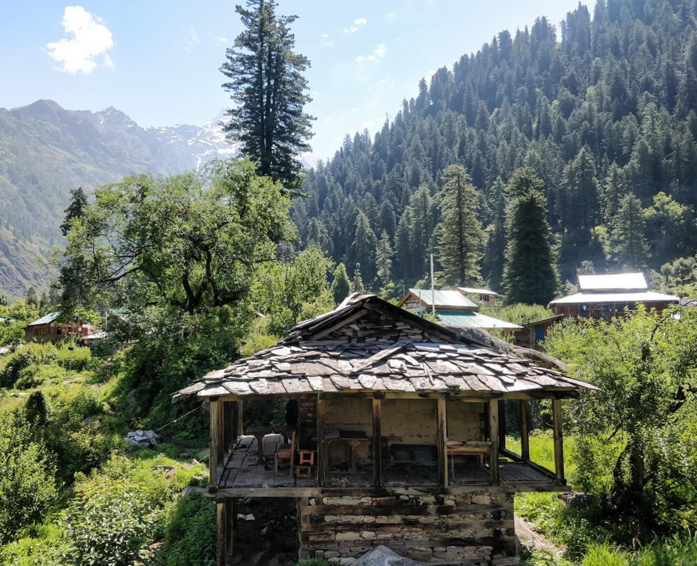 kalga+village+parvati+valley+kullu+himachal+india