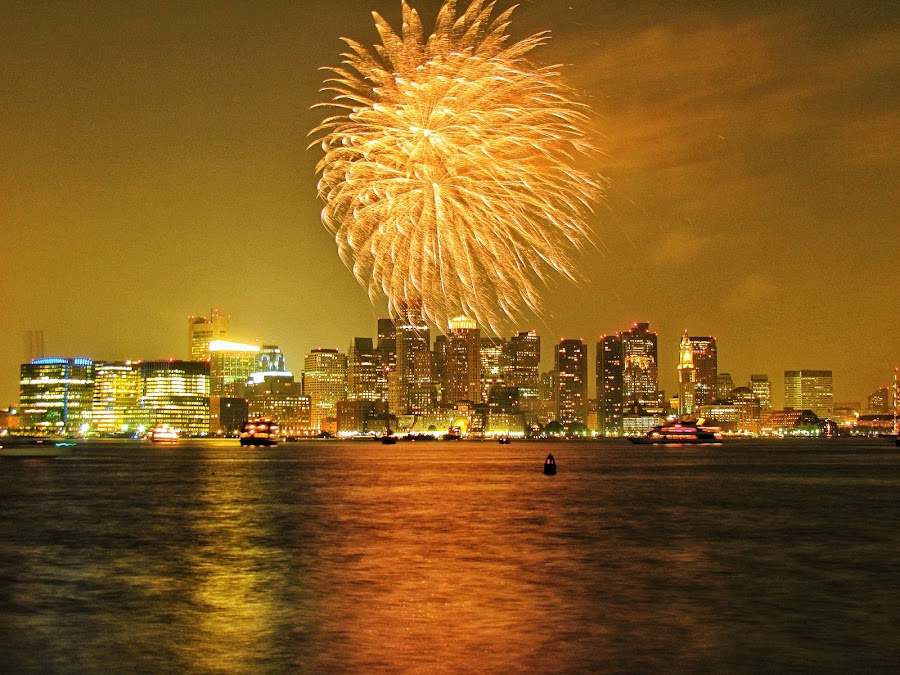 Labor Day in Boston Harbor by Mucka Finyardi - Public Holidays Other
