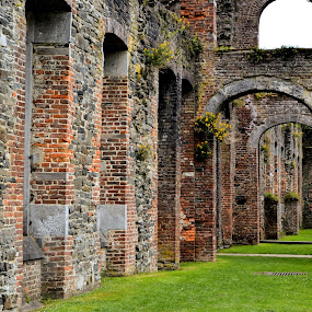 Abbey by Heather Aplin - Buildings & Architecture Decaying & Abandoned (  )