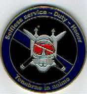 Photo: Albemarle County Police, Underwater Recovery Team, Challenge Coin (Reverse)