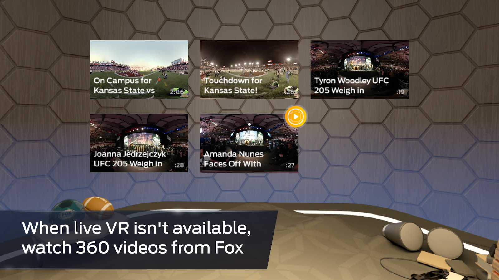 FOX Sports VR- screenshot