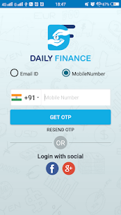 DailyFinance - náhled