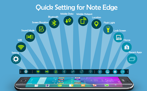Quick Setting for Note Edge