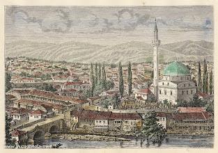 Photo: 2. H.Catenacci, Monastir 1878 година. Литографија од Битола изработена од фотографија.