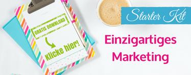 Klicke hier für das kostenlose Marketing Starter Set