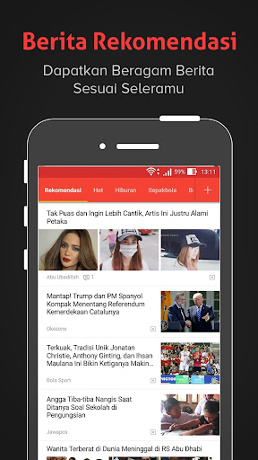 Baca- Berita Terbaru, Informasi, Gosip dan Politik 3.1.5.9 screenshots 1