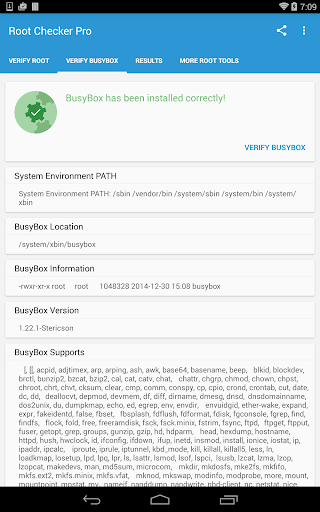 Root Checker Pro  screenshots 8