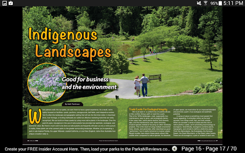 PRB (Parks & Rec Business) Mag- screenshot thumbnail