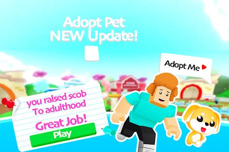 Adopt me Adventure Pet Run 4
