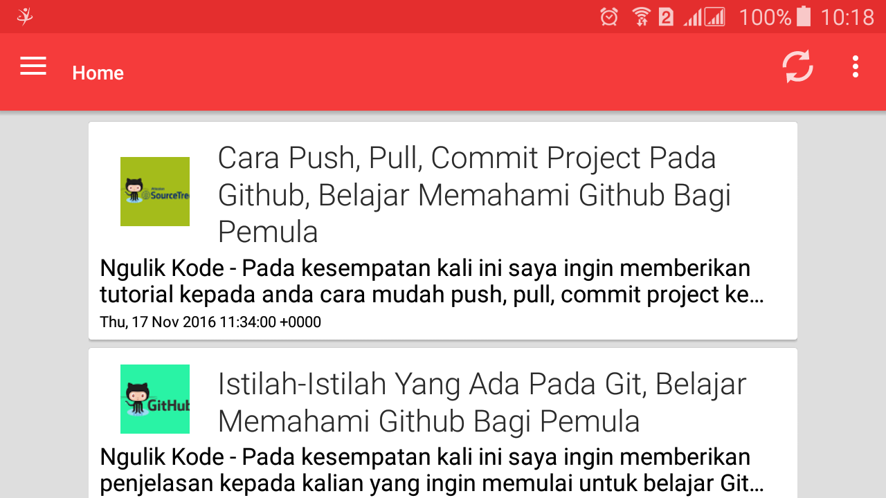 Ngulik Kode - Blog- screenshot