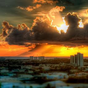 Tumon  by John Chu - Landscapes Sunsets & Sunrises