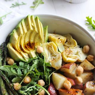 Balsamic Spring Vegetable Salad