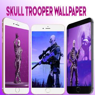 Download Skull Trooper Fornite Wallpaper 4k Hd 2018 Apk Latest