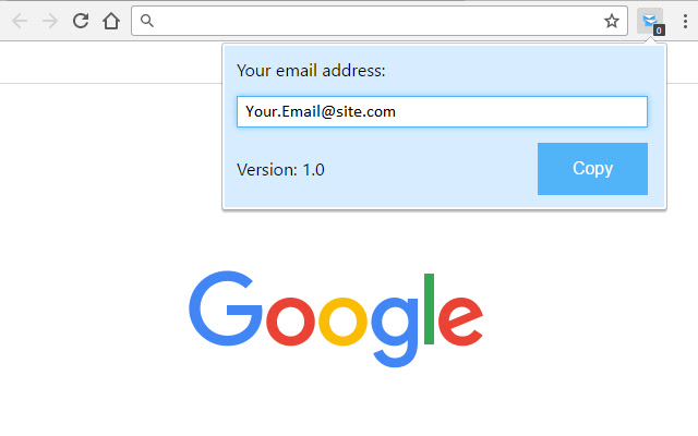 Email Address Copier
