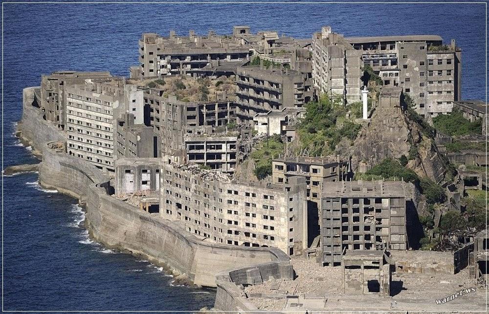 Ilha Hashima, a ilha fantasma do Japão