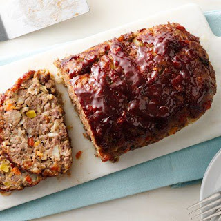 Loaded Vegetable Meatloaf
