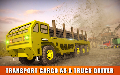 Long Heavy Truck Cargo Drive Simulation 2018 - náhled