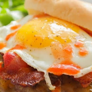 The Best Ever Bacon, Egg and Cheese Burger.