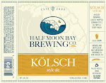Half Moon Bay Brewing Co. Kolsch Style Ale