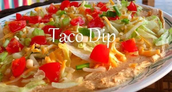 Famous Taco Dip Recipe