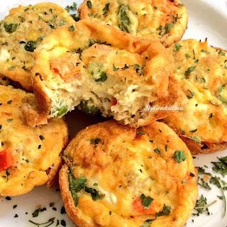 Mediterranean Egg Muffins