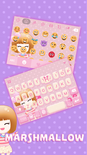 Marshmallow ☁️ Keyboard Theme