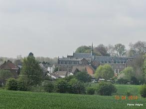 Photo: zicht op het oude klooster