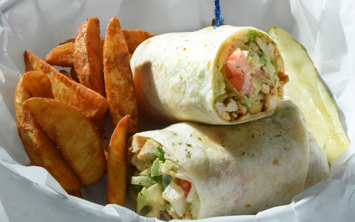 Spicy Avocado Chicken Wrap