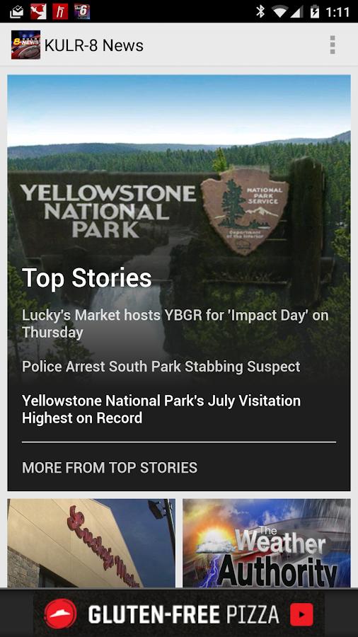 KULR News- screenshot