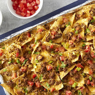 Baked Nachos With Ground Beef Recipes.