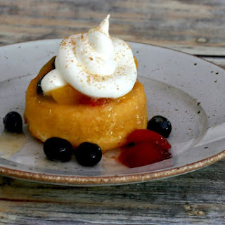 Quick and Easy Peach Dessert Sauce.