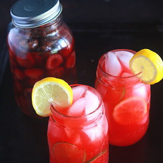 Cherry Berry Vodka Lemonade